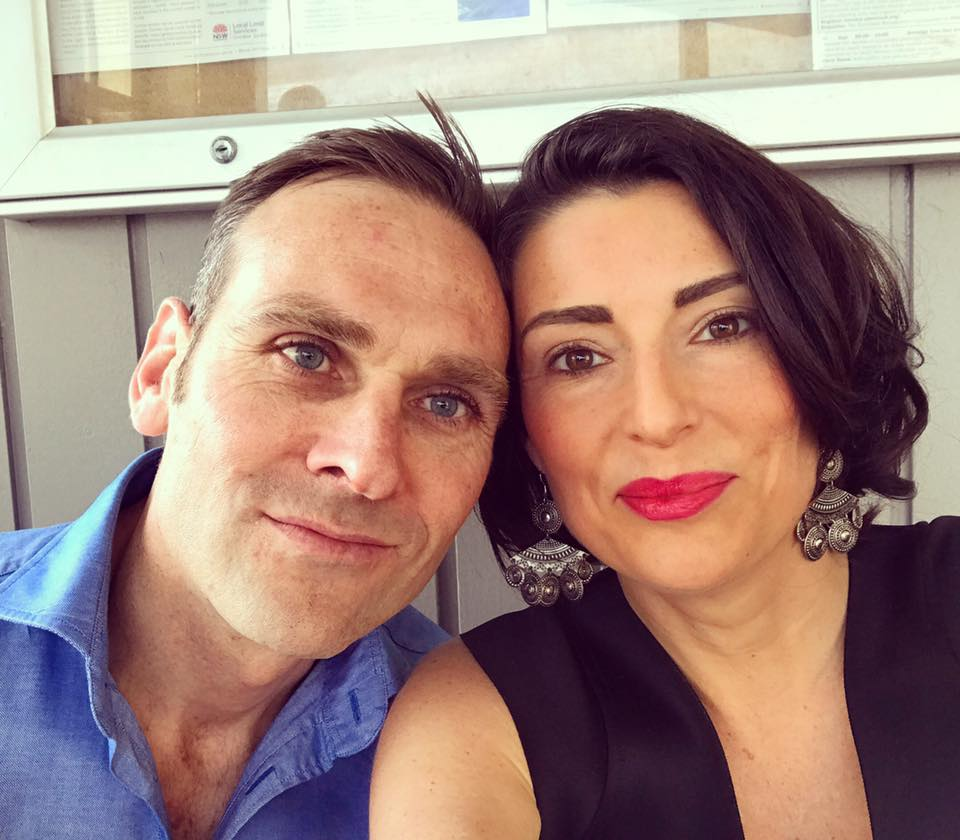 Louise DeCelis and Husband Dominic Byrne 2017