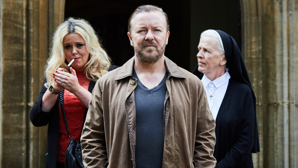 The After Life with Tony played by Ricky Gervais