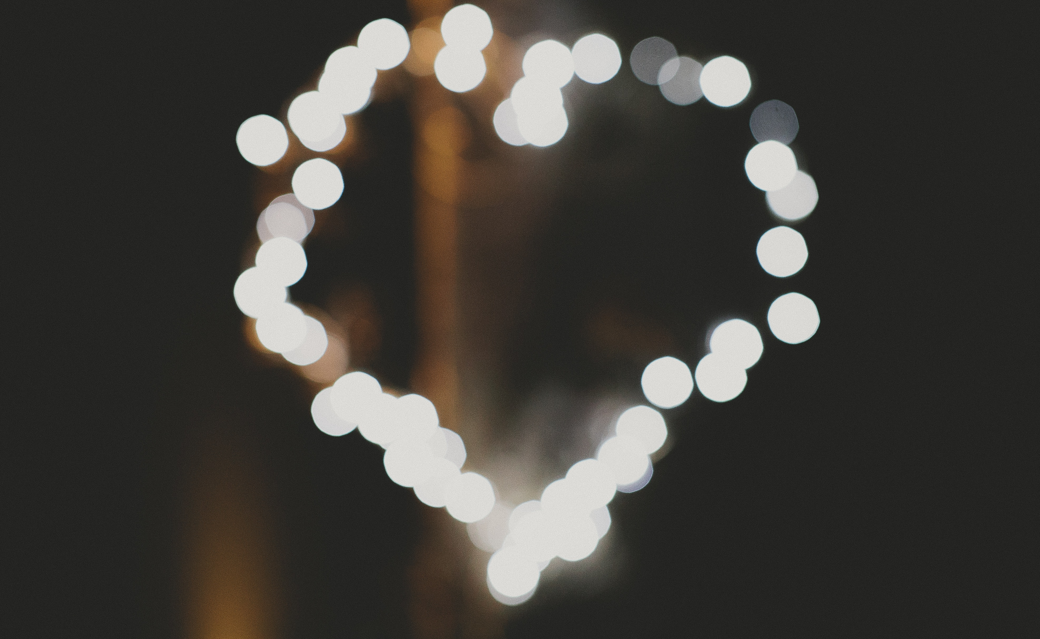 A love heart from Louise and Dominic Byrnes Wedding